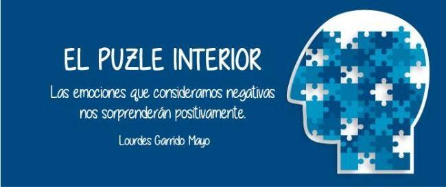 Libro el puzle interior de Lourdes Garrido Mayo