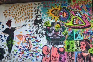 Graffiti sobre el caos de la mente