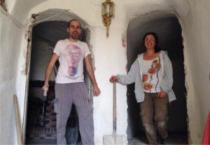 Así estamos reformando nuestra casa cueva con cariño y presencia