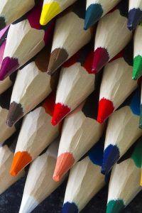 Lápices de colores para dibujar tu vocación creativa