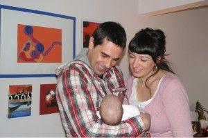 Dar amor a un bebe