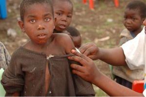 Niños en Africa y dolor del mundo