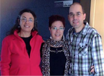 Mariluz Lopez, Dori Pecharroman e Ignacio Gallego de Lerma