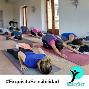 Yoga con exquisita sensibilidad
