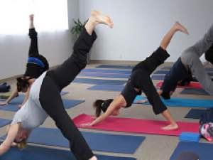 Práctica corporal yoga