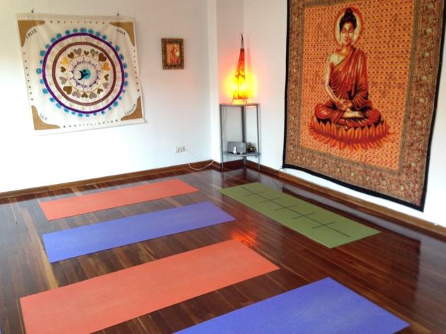 Sala de yoga del Centro InterSer Palencia