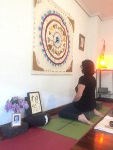 Sala interSer con el grupo de meditación zen en Palencia