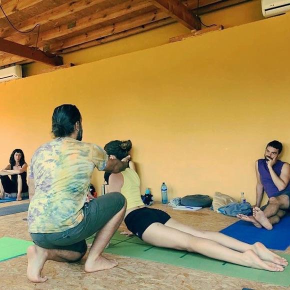 Retiro de formación en Yoga Dinámico con José Luis Cabezas - Verano yóguico