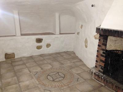 Suelos y paredes casa cueva