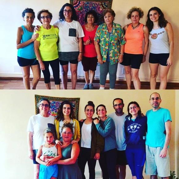 Alumnos de yoga en Hontoria de Cerrato - Verano yóguico