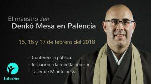 Cursos zen, conferencias y talleres de Denkô Mesa en Palencia