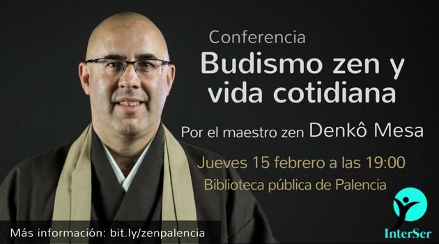 Conferencia Budismo zen y vida cotidiana