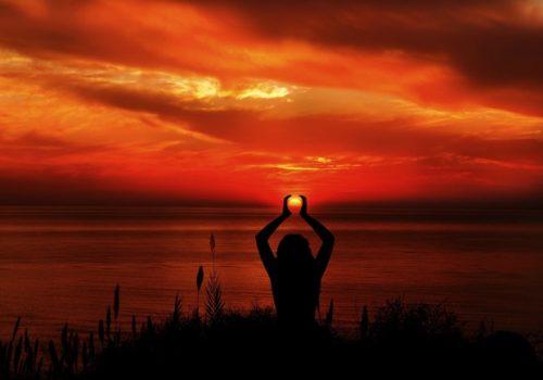 Práctica de la meditación en la naturaleza