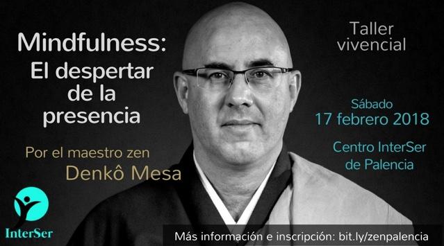 Taller de Mindfulness de Denko Mesa en Palencia