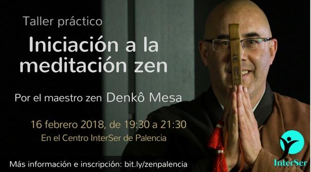 Taller de iniciación a la meditación zen por Denko Mesa