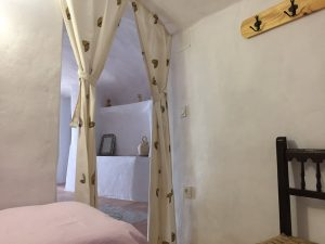 Habitación doble en el alojamiento rural Casa la Luz