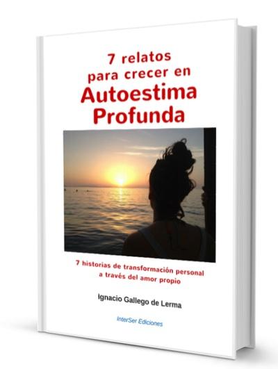 Portada del libro 7 relatos para crecer en Autoestima Profunda