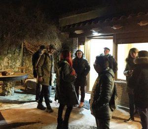 Alumnos curso emprendimiento rural en Casa Cueva