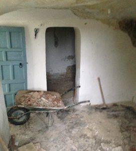 Estado original habitación casa cueva