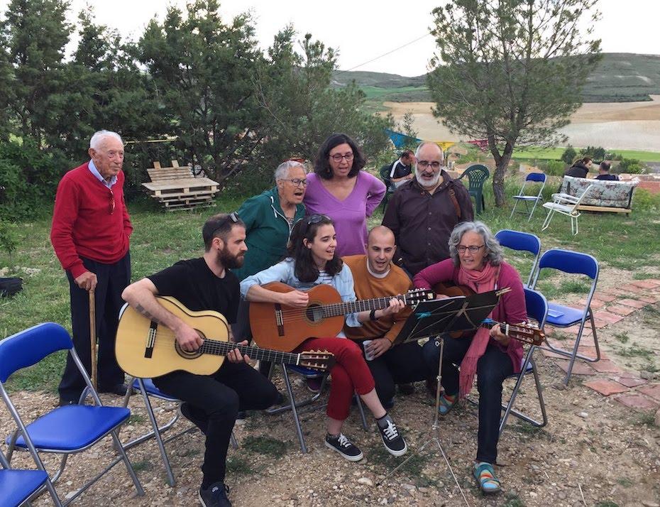Momentos mágicos de música en directo en la Casa Cueva