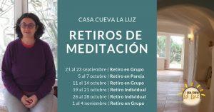 Días de retiros individuales, en pareja y grupales en la Casa Cueva La Luz – Otoño 2018