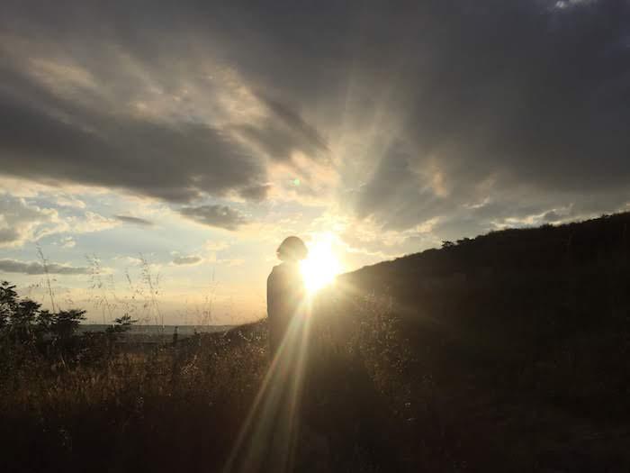 Sensibilidad, figura y puesta de sol
