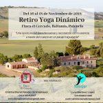 Un fin de semana exclusivo de retiro de Yoga Dinámico en plena naturaleza