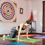 Luna Martinez profesora de yoga en Palencia