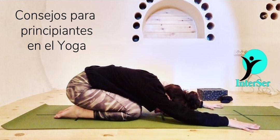Consejos para principiantes en Yoga
