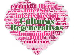 Culturas Regenerativas nube palabras clave